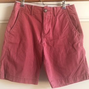 American Eagle 🦅 Red Shorts size 28